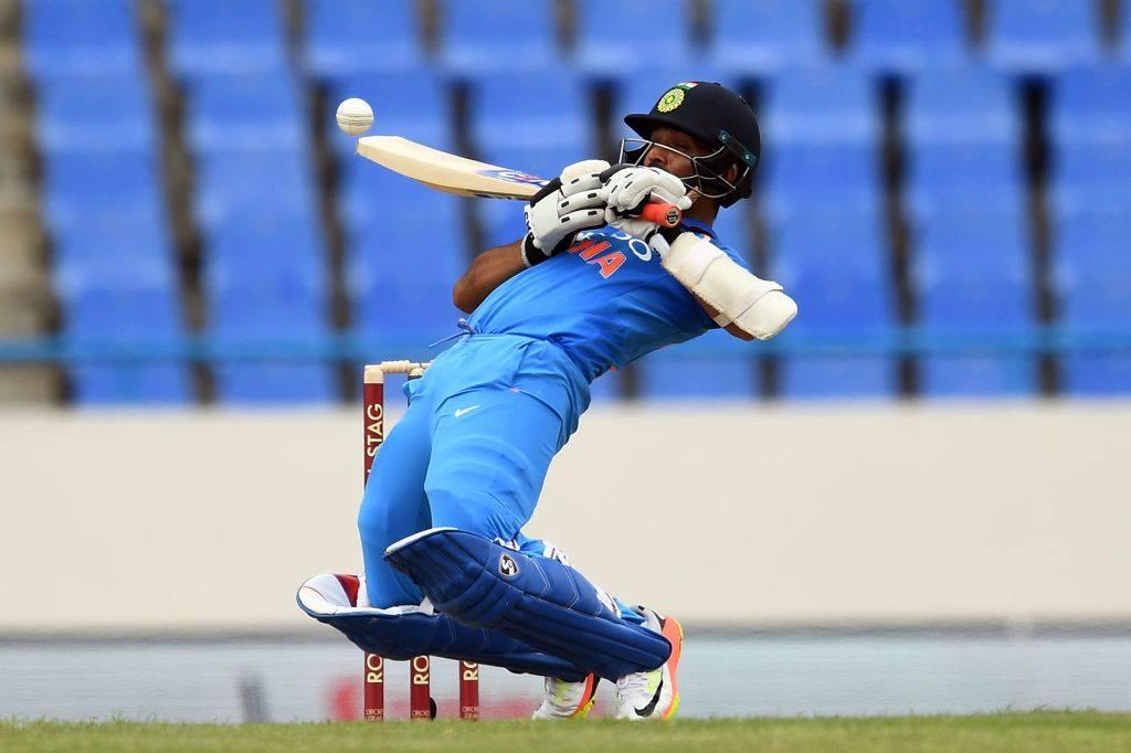 How is that for balanceAjinkya Rahane during his knock of 72 runs off 112 balls vs. West Indies #WIvIND. West Indies #WIvIND