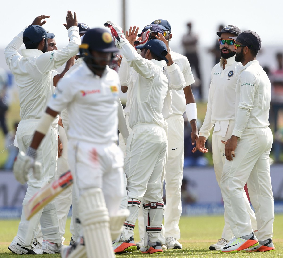 india end on 154 for5